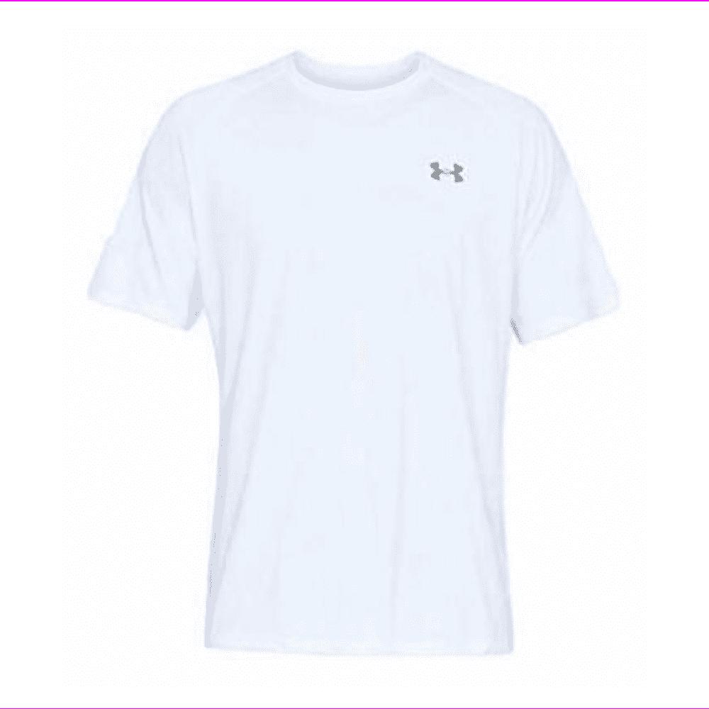 alegría Perseguir cómo  Under Armour - Under Armour Men's UA Tech 2.0 Short Sleeve Shirt (Medium)  White - Walmart.com - Walmart.com