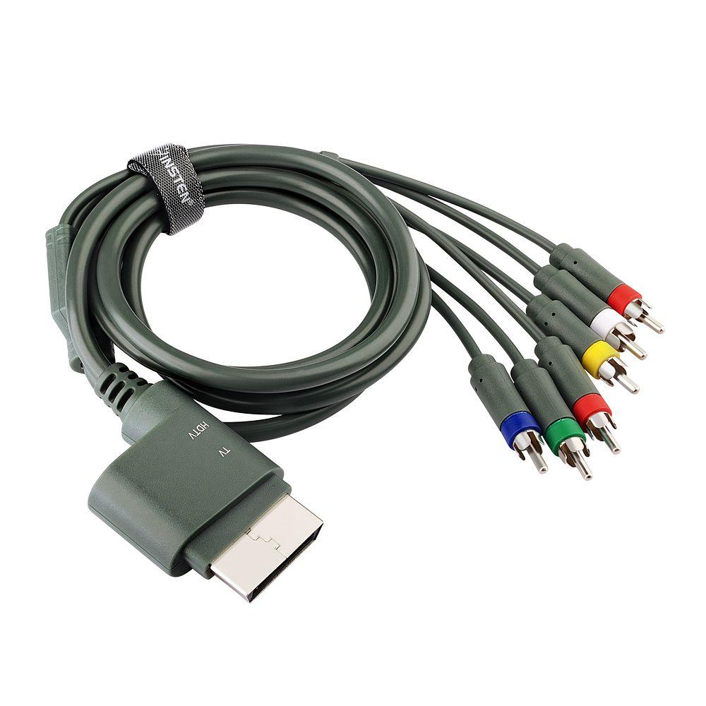Insten Premium Component HD AV Cable For Microsoft Xbox 360 / Xbox ...