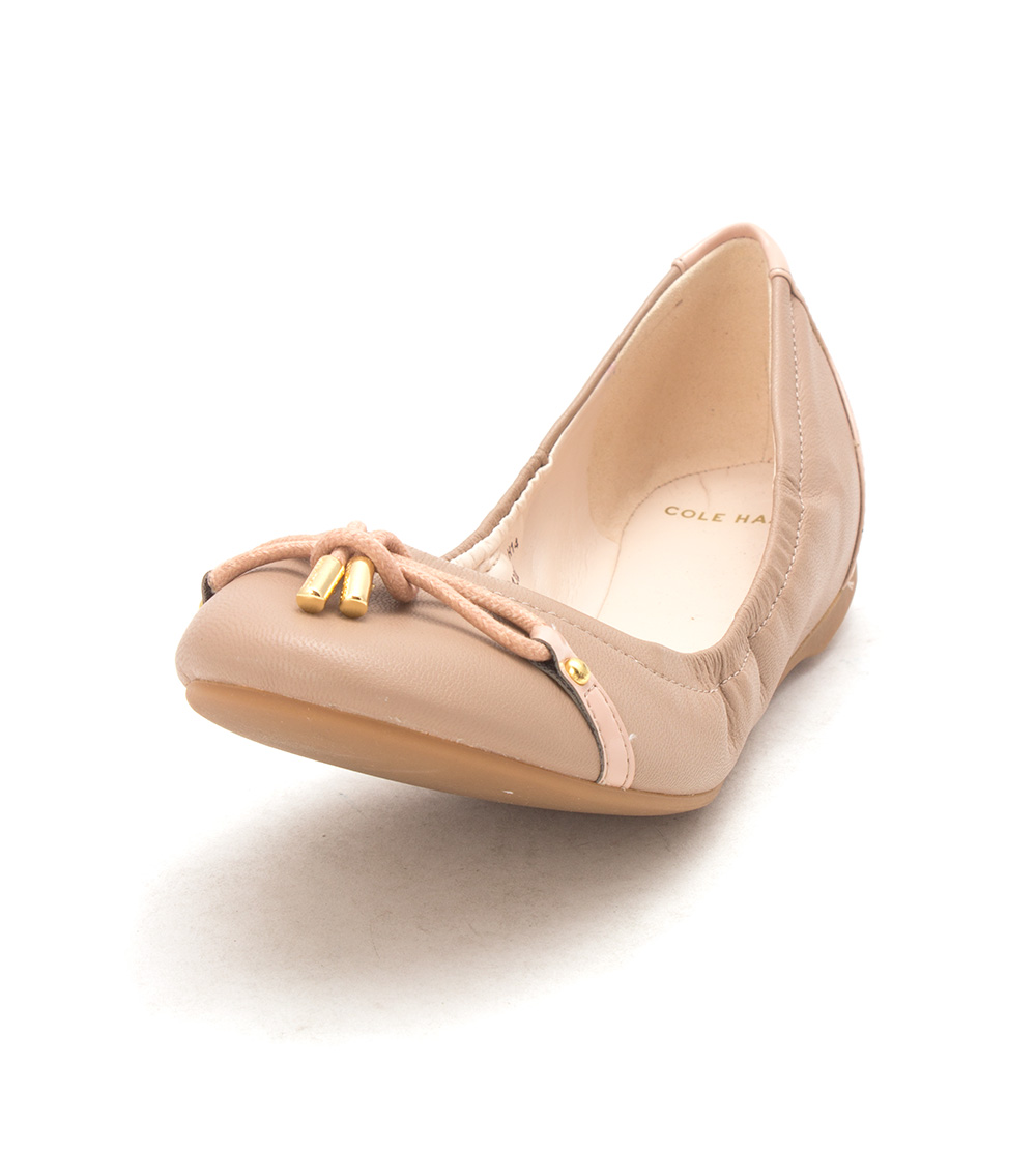 Cole Haan Womens Karlasam Closed Toe Ballet Flats, Maple Sugar, Size 6.0