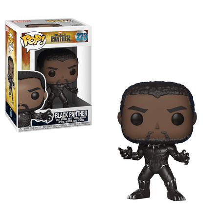Funko POP Marvel: Black Panther- Black Panther - Pops Toys