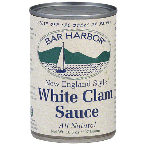 Bar Harbor New England Style White Clam Sauce, 10 oz (Pack of 6)