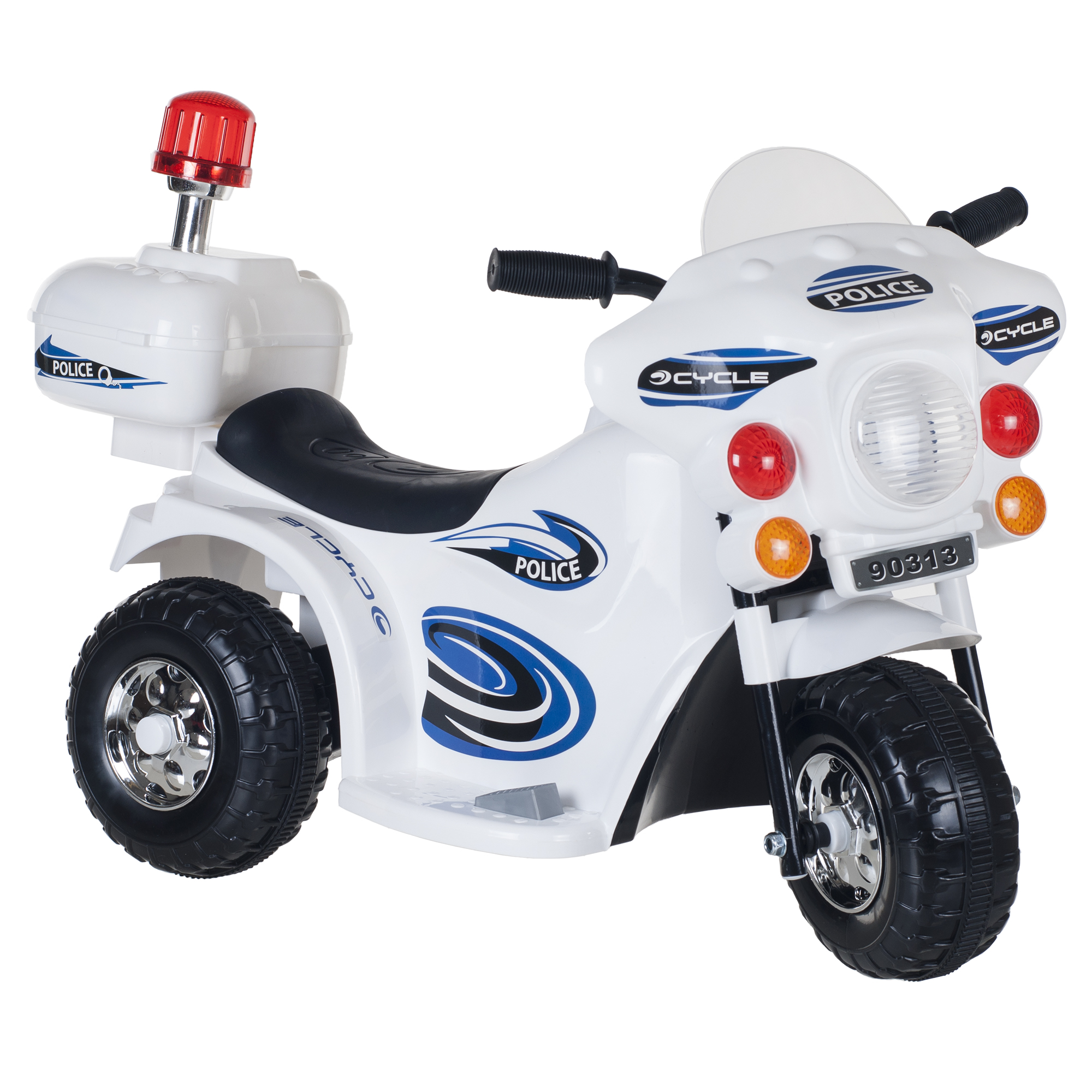 Ride on Toy, 3 Wheel Motorcycle for Kids, Battery Powered Ride On Toy by Hey! Play! � Ride... by Trademark Global LLC