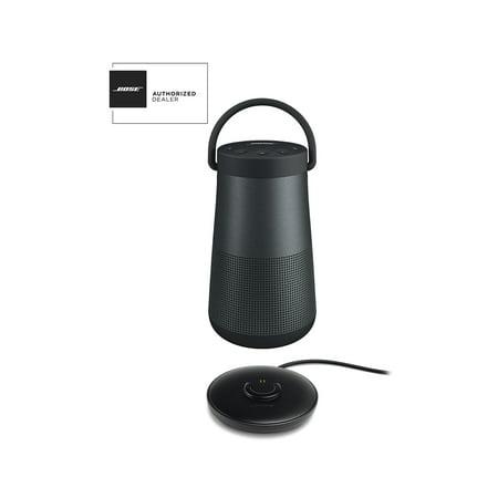 Bose SoundLink Revolve Plus Black Bluetooth Speaker and Charge Cradle Kit