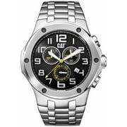 Men's CAT Caterpillar Navigo Chrono Steel Chronograph Watch A714311117