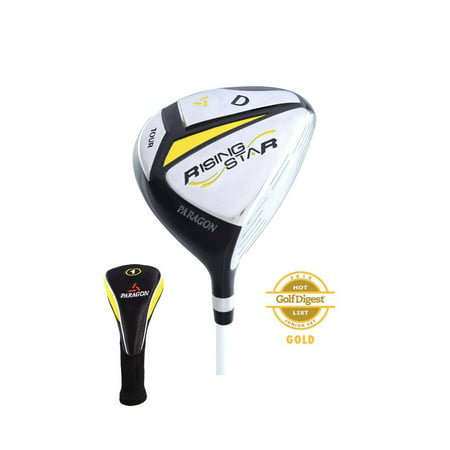 Paragon Golf Rising Star Kids Junior Driver Ages 5-7 Yellow / Left-Hand ()