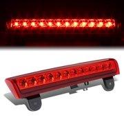 for 00-06 chevy tahoe/suburban/gmc yukon gmt800 led 3rd brake light (red lens) 01 02 03 04 05