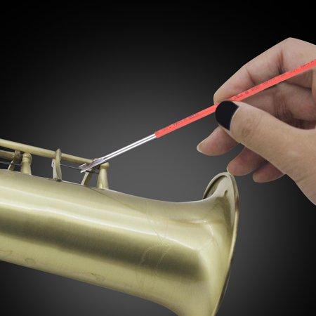 TOPINCN Crochet de ressort pour outil de réparation de bois pour clarinette Saxophone hautbois flûte Basson Piccolo, outil de réparation de bois, outil de réparation de bois pour Sax - image 2 de 7