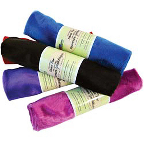 """Fabric Palette Pre-Cut Faux Fur Assortment, 18"""" x 30"""", Solid Colors"""