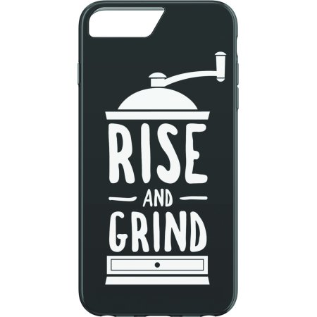 Scent Case Pack (Coffee Scented Rise and Grind Phone Case For iPhone 6 Plus, iPhone 6s Plus, iPhone 7 Plus, iPhone 8 Plus )