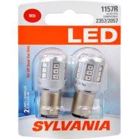 Sylvania 1157 Red SYL LED Mini Bulb, Pack of 2