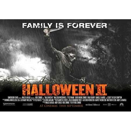 Halloween 2 POSTER Movie D Mini Promo