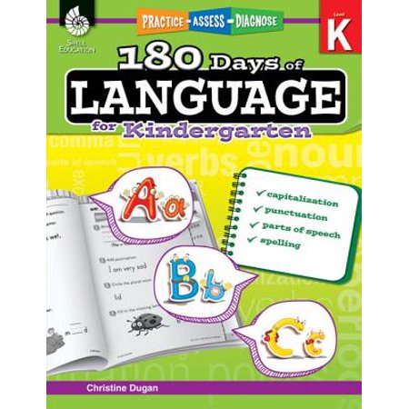 180 Days of Language for Kindergarten (Grade K) : Practice, Assess, Diagnose](Halloween Writing Ideas For Kindergarten)