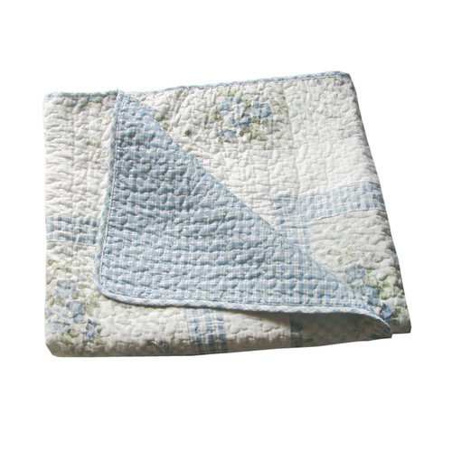 Textiles Plus Inc. Trellis Cotton Throw