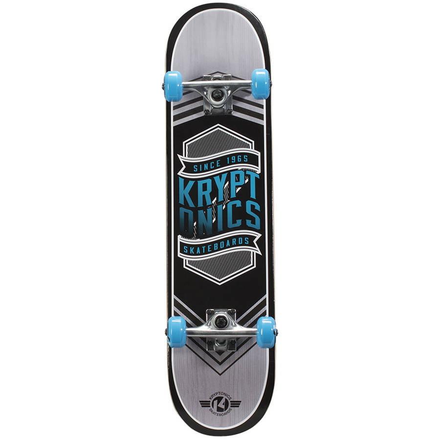 "Kryptonics Drop-In Series Complete Skateboard, 31"" x 7.5"""