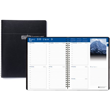 House of Doolittle Earthscapes Photos Weekly Planner (279-02) Doolittle Professional Weekly Planner