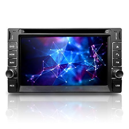 "Corehan 6.2"" Touch Screen in Dash Double Din GPS Navigation Vehicle Car Dvd Player Stereo Reciver with... by"