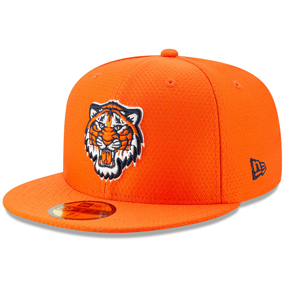 Detroit Tigers New Era 2019 Batting Practice 59FIFTY Fitted Hat - Orange