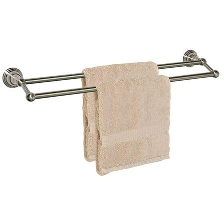 Dynasty Hardware 2216 SN Muirfield 24 Double Towel Bar Satin Nickel ()
