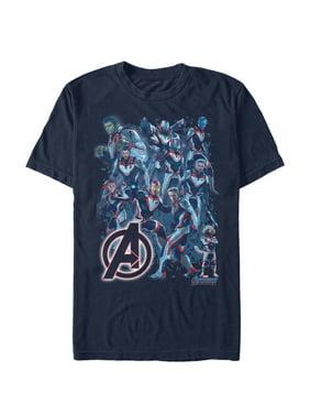 9ab1b4640e79a Product Image Marvel Men s Avengers  Endgame Hero Huddle T-Shirt
