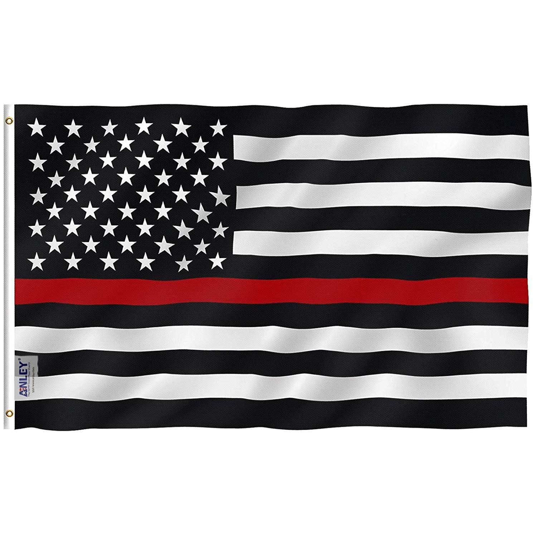New Junior/'s Huge US Flag Black Workout Fitness Gym America USA Tank Top