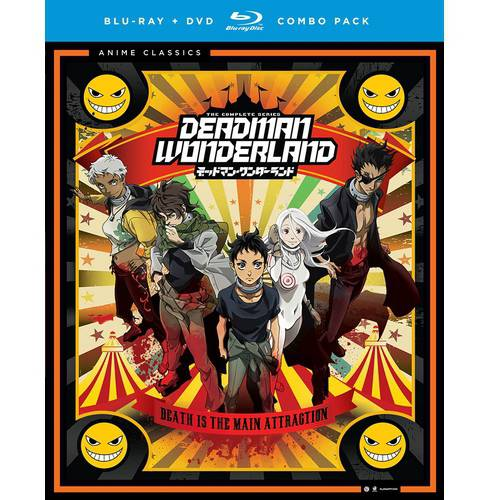 Deadman Wonderland  The Complete Series  Blu Ray   Dvd