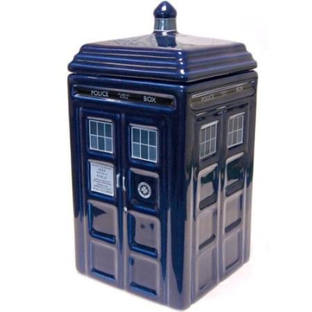 Doctor Who Tardis Ceramic Cookie