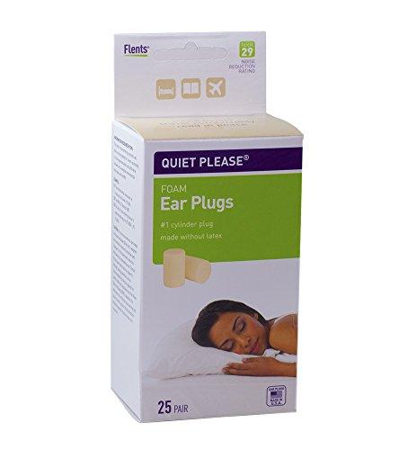 Flents Quiet Please Foam Ear Plugs 25 Pair Pack of 6