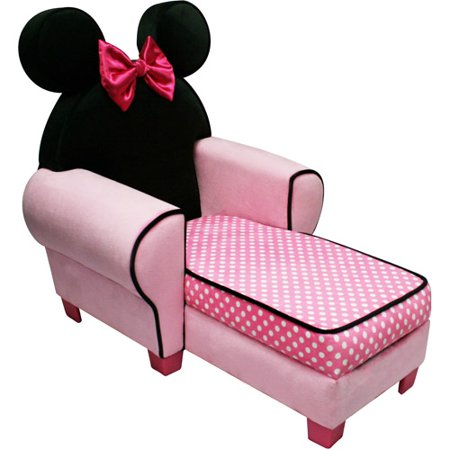 Disney Minnie Mouse Chaise With Storage