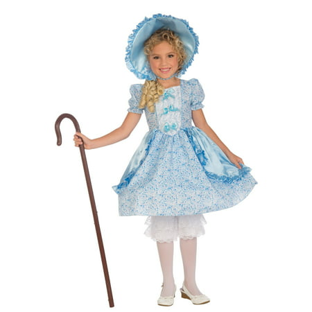 Lil Bo Peep Child Costume (M) - Little Bo Peep Costume Toy Story Womens