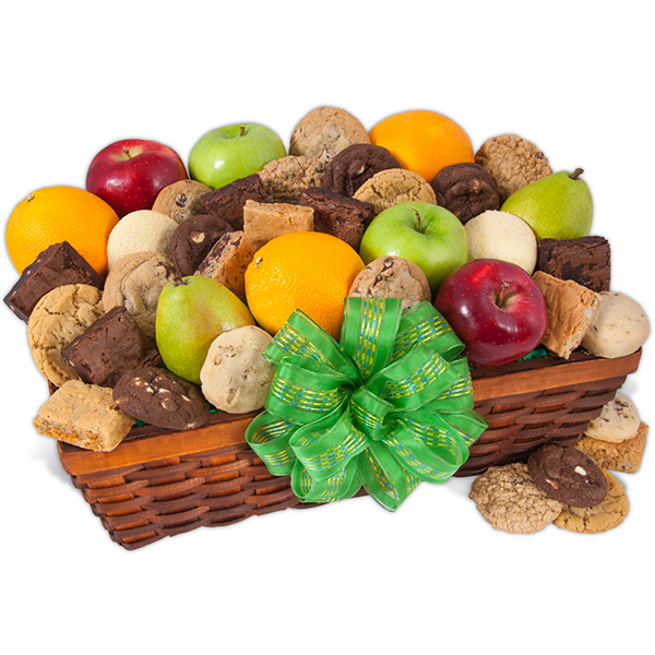 Fruit & Baked Goods Gift Basket