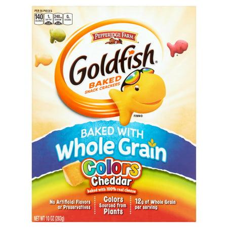 Pepperidge Farm Whole Grain Goldfish Colors Crackers ...