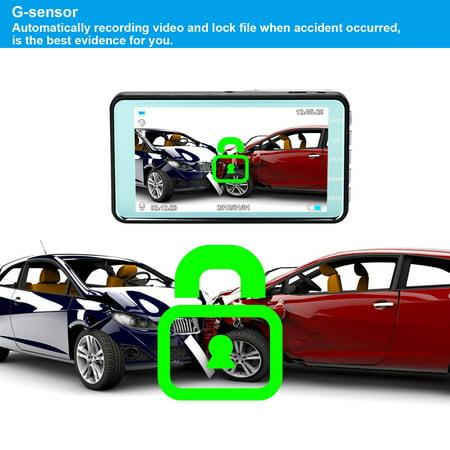 "4"" Vehicle 1080P Car Dashboard DVR Camera Video Recorder G-Sensor Dash Cam - image 3 de 8"