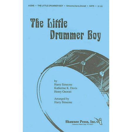 Shawnee Press The Little Drummer Boy TTBB Arranged by Harry Simeone - Little Boy Drummer