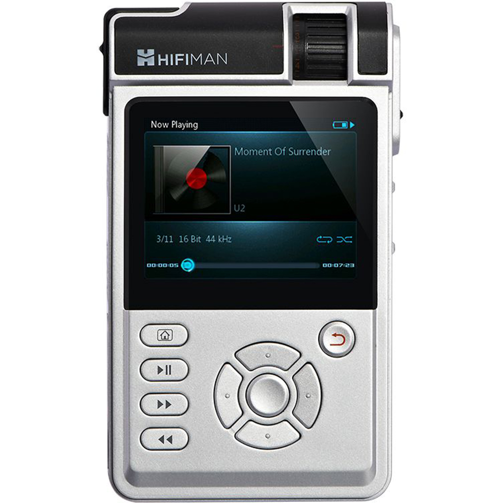 HIFIMAN HM-650 High Fidelity Portable Music Player with Standard Amp Card