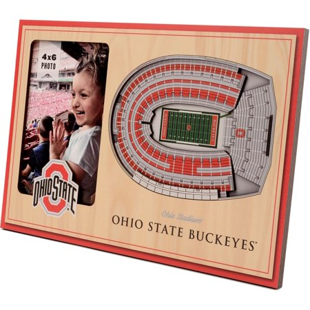 You the Fan Ohio State Buckeyes 3D Picture Frame Fan Picture Frame