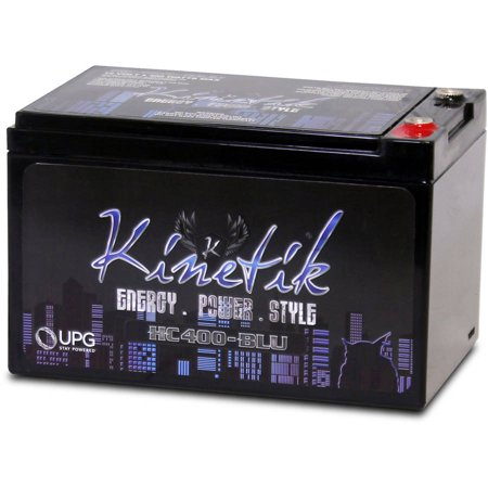 Kinetik 40920 HC BLU Series Battery Power Cells for the Ultimate Car Audio Experience (HC400, 400W, 12A-Hour Capacity,