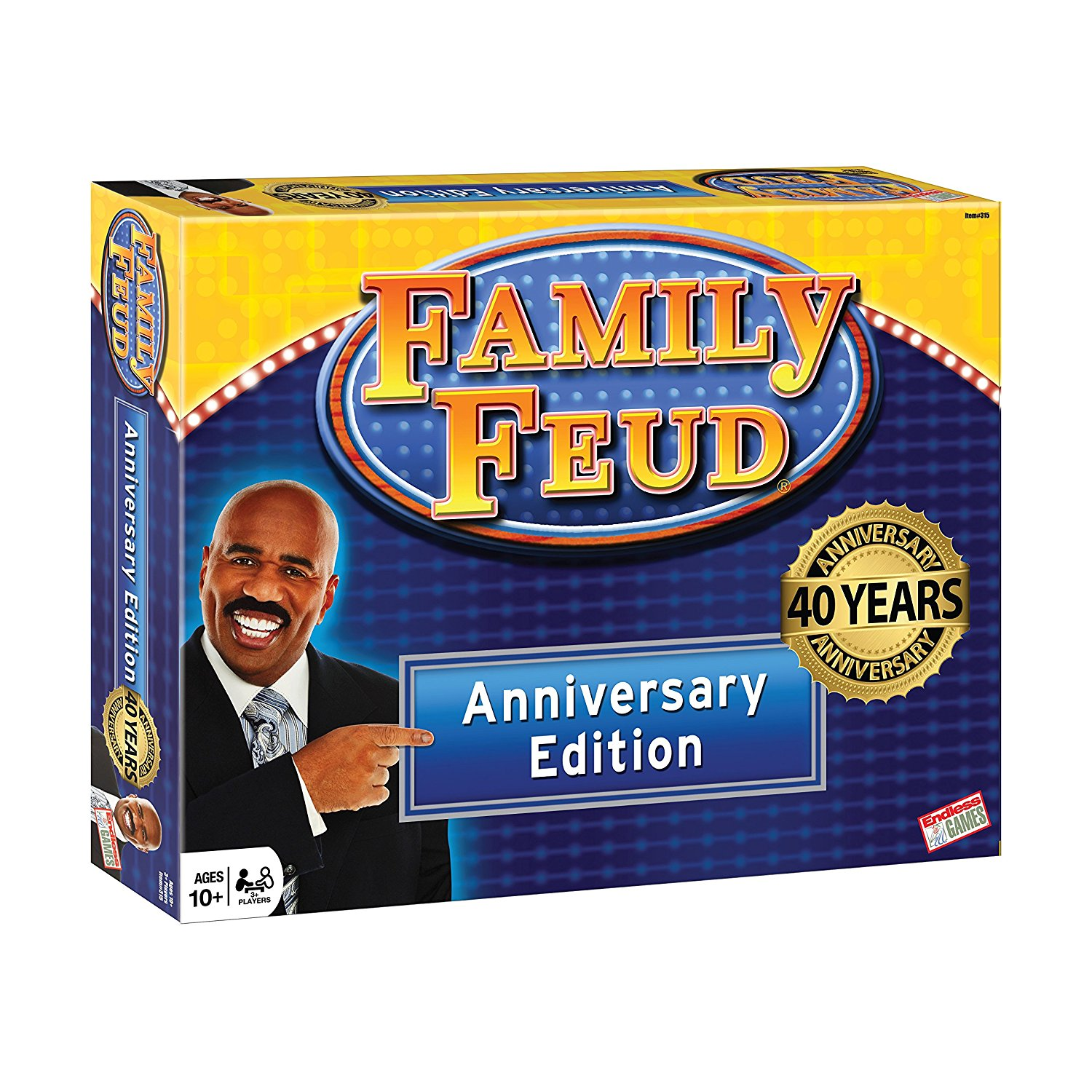 Family Feud 40th, 40th Anniversary edition features the c...