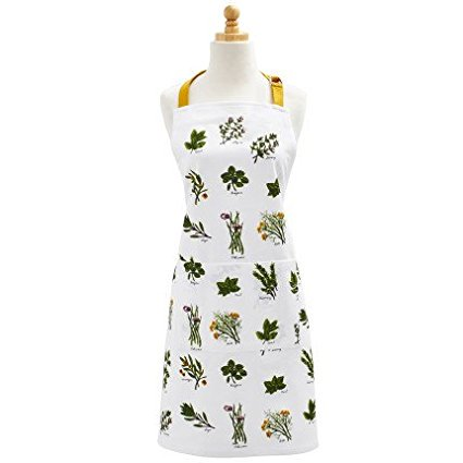 Herbs Kitchen Apron A03135 Herbs Kitchen Apron By Sur La