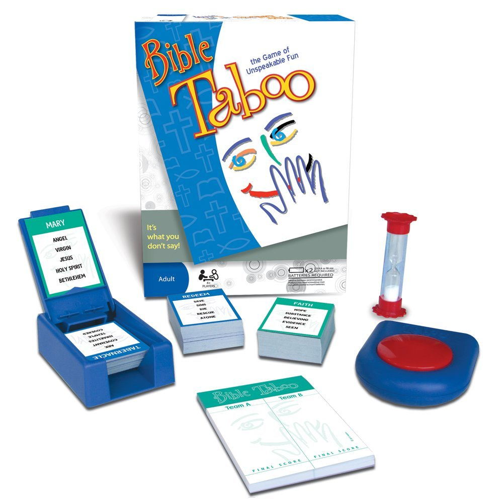 Bible Taboo, For 4 or more players By TaliCor
