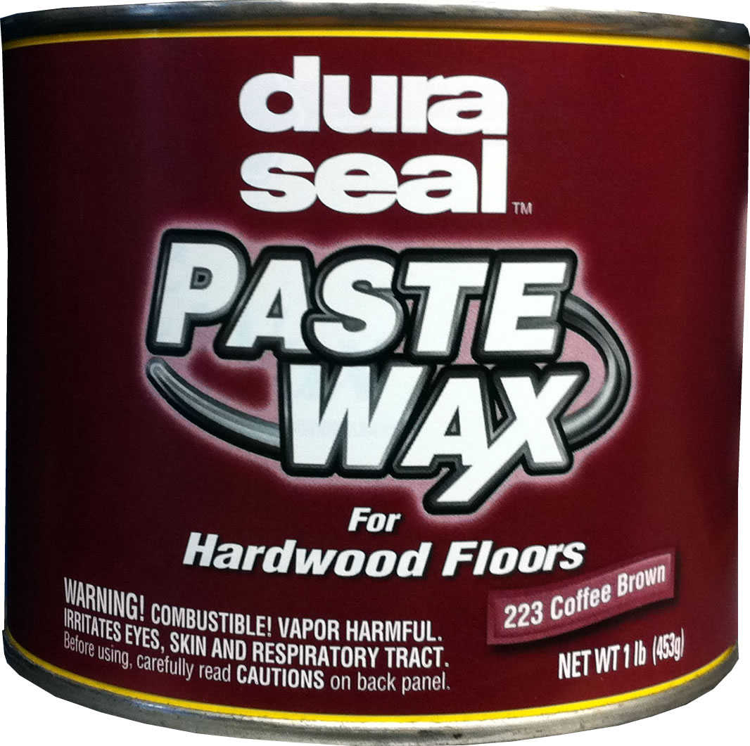 DURA SEAL Coffee Brown 1lb Paste Wax