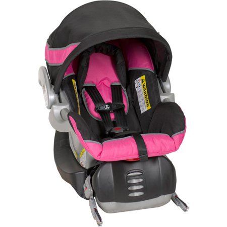 Baby Trend Flex-Loc Infant Car Seat, Bubble Gum - Walmart.com