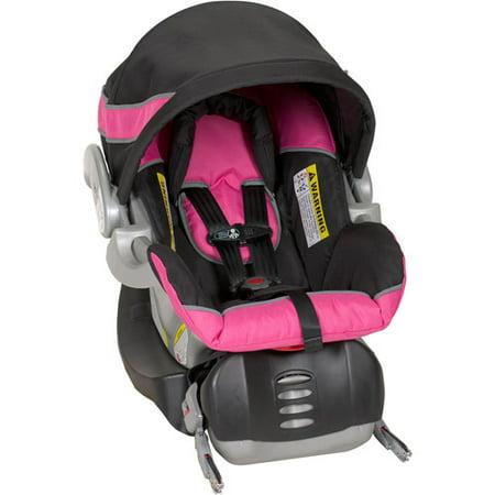 baby trend flex loc infant car seat bubble gum. Black Bedroom Furniture Sets. Home Design Ideas