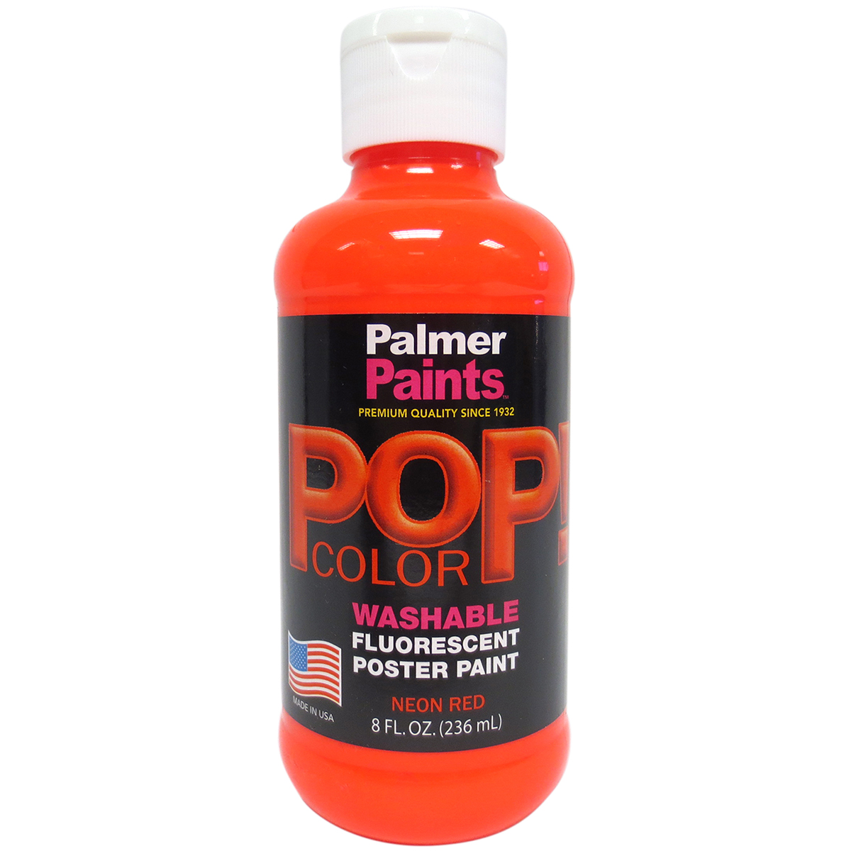 Prism Tempera Neon Poster Paint 8Oz-Red