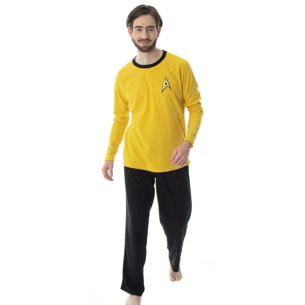 Intimo - Star Trek Original Series Men's Uniform Costume Sleepwear Pajama Set - Walmart.com - Walmart.com