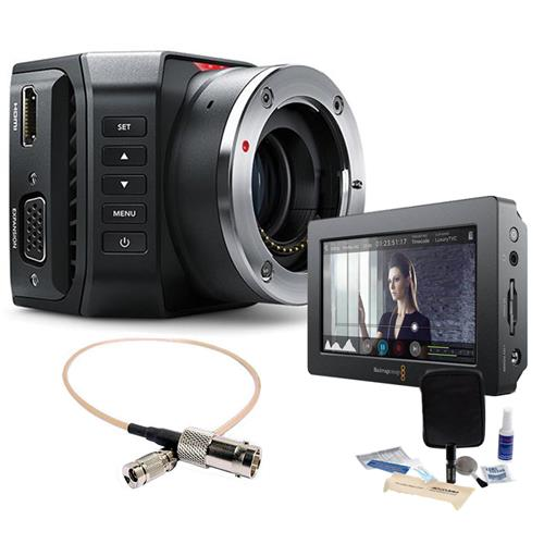 Blackmagic Design Micro Ultra HD Studio Camera 4K, Micro ...