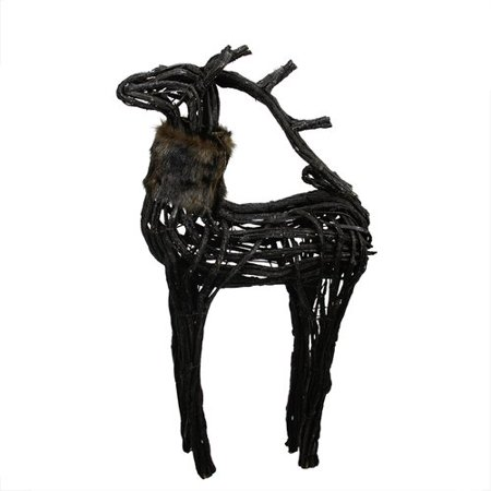 Northlight Seasonal Wicker Standing Reindeer Christmas Decoration - Walmart.com
