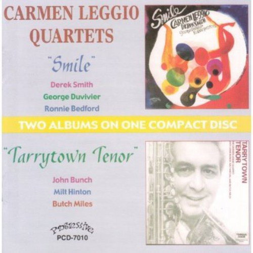 Carmen Leggio - Smile/Tarrytown Tenor [CD]