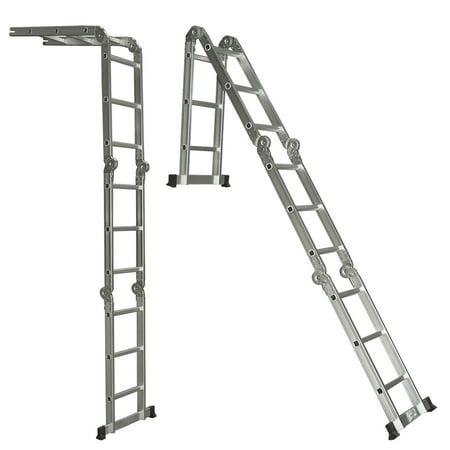 Multi Purpose Aluminum Ladder Folding Step Ladder Scaffold