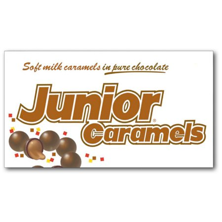 Junior Caramels 3.6oz Theater Box: 12 Count