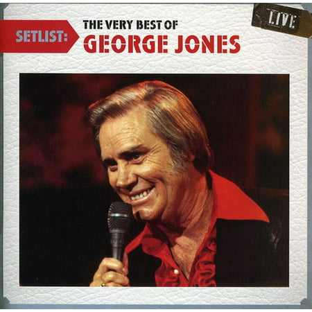 Setlist: The Very Best of George Jones Live (George Best Le Cinquieme Beatles)